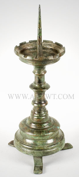 Gothic Candlestick, Pricket, 15th Century, entire view