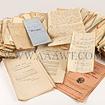 Antique Paper, Letters and Documents